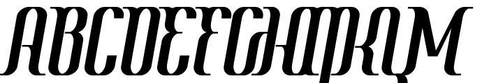 Year2000-Context-Regular Font UPPERCASE