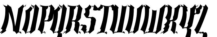 Year2000-Context-Scrambled-Hvy Font UPPERCASE