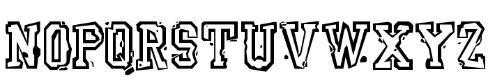 YearBookMess Font LOWERCASE