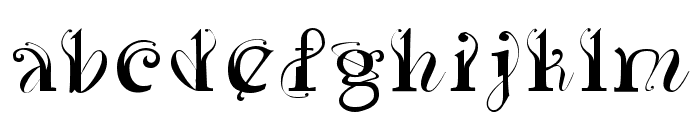 Yedra PurpureaRegular Font LOWERCASE