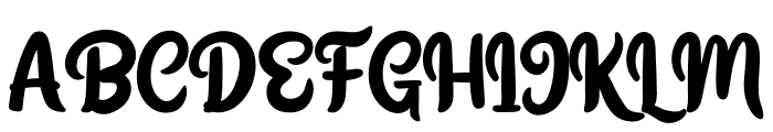 Yegufet Personal Use Font UPPERCASE
