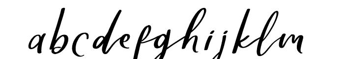 Yellove DEMO Regular Font LOWERCASE