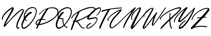 Yellow Pen Font UPPERCASE
