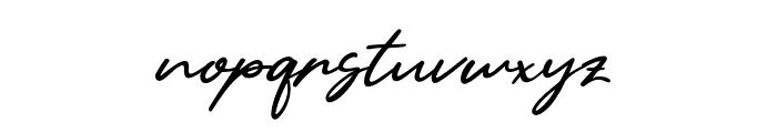 Yellow Pen Font LOWERCASE
