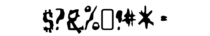 YellowPills-Regular Font OTHER CHARS