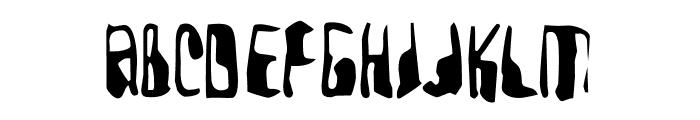 YellowPills-Regular Font LOWERCASE
