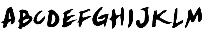 Yellowjacket Rotate Font UPPERCASE