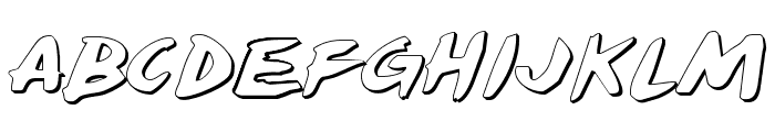 Yellowjacket Shadow Font LOWERCASE