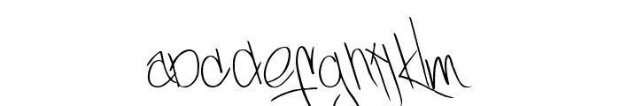 Yellowjackets-Regular Font LOWERCASE