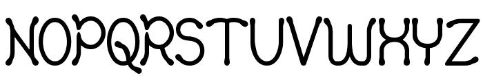 Yellowswamp Font UPPERCASE
