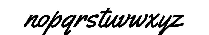 Yellowtail Font LOWERCASE