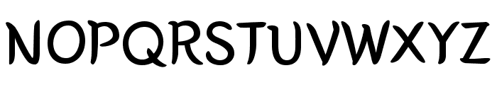 Yeon Sung Regular Font UPPERCASE