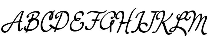 Yerbaluisa Font UPPERCASE