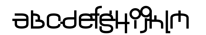 Yerevan Regular Font LOWERCASE