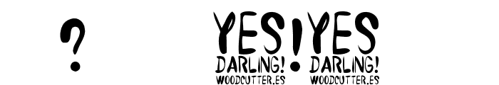 Yes Darling Font OTHER CHARS