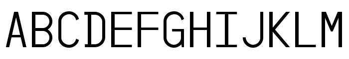 YesYesNo Font UPPERCASE