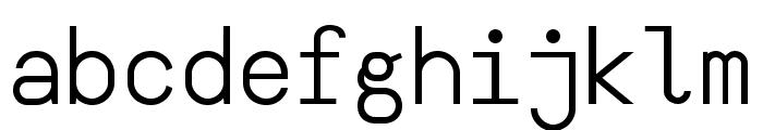 YesYesNo Font LOWERCASE