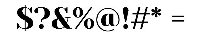 Yeseva One Regular Font OTHER CHARS