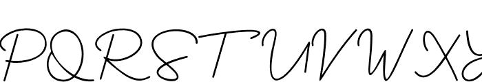 YesieRegular Font UPPERCASE