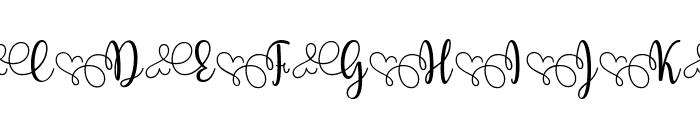 Yessy Font UPPERCASE