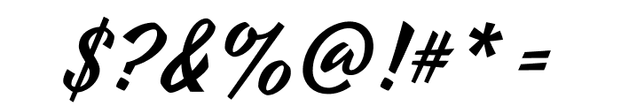 Yesteryear-Regular Font OTHER CHARS