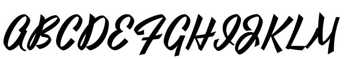 Yesteryear-Regular Font UPPERCASE