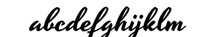 Yesteryear-Regular Font LOWERCASE