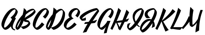Yesteryear Font UPPERCASE