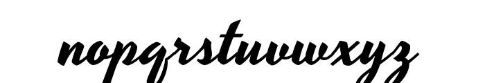 Yesteryear Font LOWERCASE