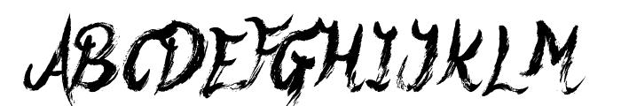 Yeti Fety Font UPPERCASE
