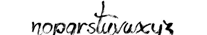 Yeti Fety Font LOWERCASE