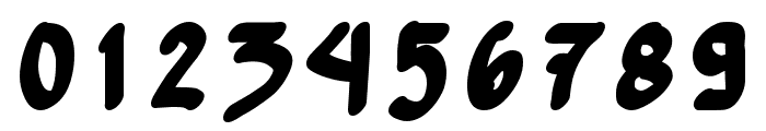 Yew Basturd Bold Font OTHER CHARS