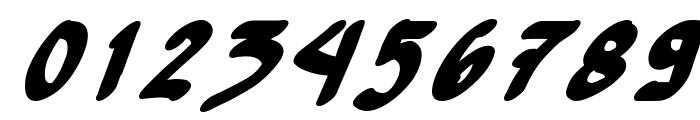 Yew Basturd BoldItalic Font OTHER CHARS