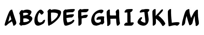 Yew Basturd Normal Font UPPERCASE