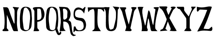 yeahfree Font UPPERCASE