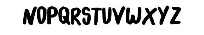 yearbook Font UPPERCASE