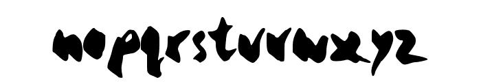 yello Font LOWERCASE