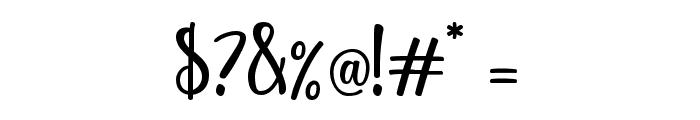 yellosun Font OTHER CHARS