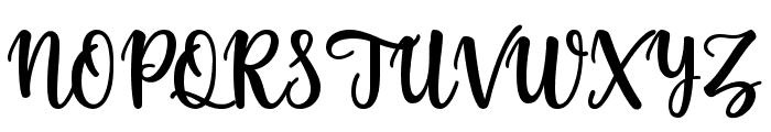yellosun Font UPPERCASE
