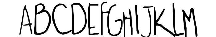 yexivela Font UPPERCASE