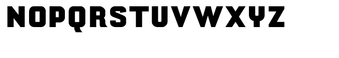 Yearling ExtraBold Regular Font UPPERCASE