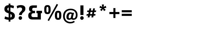 Yefimov Sans Bold Font OTHER CHARS