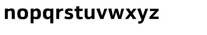 Yefimov Sans Bold Font LOWERCASE