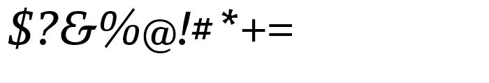 Yefimov Serif Italic Font OTHER CHARS