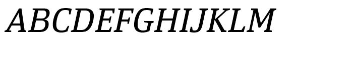 Yefimov Serif Italic Font UPPERCASE