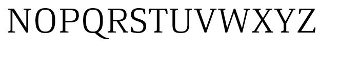 Yefimov Serif Light Font UPPERCASE