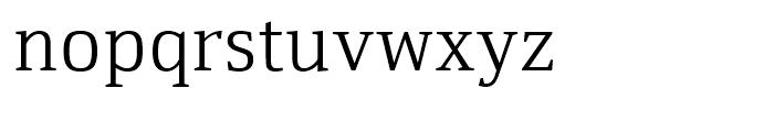 Yefimov Serif Light Font LOWERCASE
