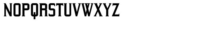 Yeoman Gothic Bold Font UPPERCASE