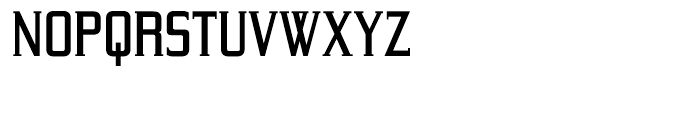 Yeoman Gothic Medium Font LOWERCASE