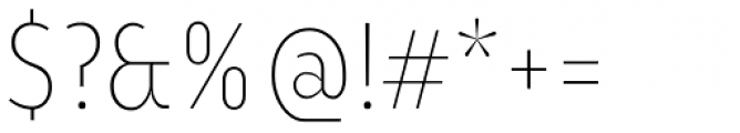 Ye Paradigma Condensed Light Font OTHER CHARS